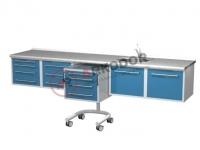 Комплект стоматологической мебели подвесной ARKODENT-T01