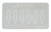 Набор лезвий-шпателей Porcelain Blade